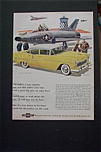 1955 Chevrolet with The Bel Air 4 Door Sedan (Image1)
