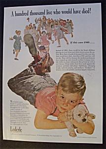 Vintage Ad: 1951 Lederle By Douglas Crockwell (Image1)