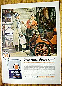 1944 Havoline Motor Oil with 2 Men Talking  (Image1)