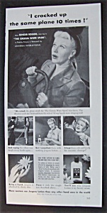 1951 Jergens Lotion w/Ginger Rogers (Groom Wore Spurs) (Image1)