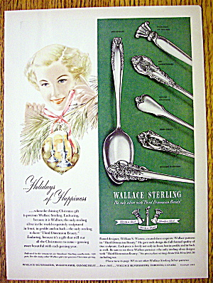 1951 Wallace Sterling Silverware with Rose Point & More (Image1)