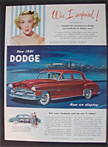 1951 Dodge Automobiles With Betty Hutton