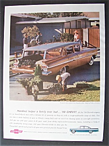 1959 Chevrolet Wagons With The Nomad 4-door