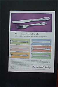 1955 International Sterling w/Six Styles of Silverware (Image1)