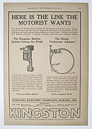 1923 Kokomo Electric Line W/ignition System