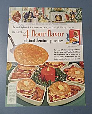 1954  Aunt  Jemima  Pancake  Mix (Image1)