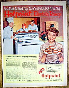 1953 Hotpoint Range with Ozzie & Harriet Nelson (Image1)