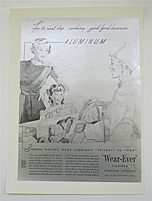 1936 Wear Ever Aluminum Cooking Utensils w Woman (Image1)