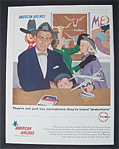 Vintage Ad: 1955 American Airlines