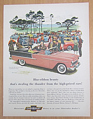 1955 Chevrolet with Chevy Bel Air Convertible  (Image1)