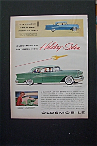 1955 Oldsmobile With Super 88 Holiday Coupe & Sedan