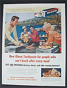 1955  Gleem  Toothpaste (Image1)