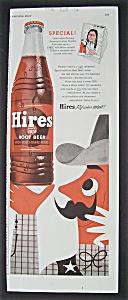 Vintage Ad: 1955  Hires  Root  Beer (Image1)