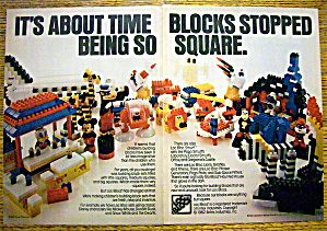 1982 Loc Blocs with Mickey Mouse, Donald Duck & More (Image1)