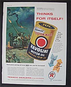 1955  Havoline  Motor  Oil (Image1)