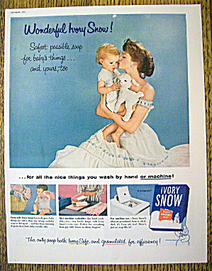 1955 Ivory Snow with Mother Holding Baby (Image1)