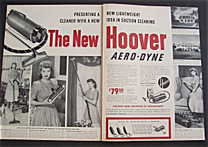 Vintage Ad: 1950 Hoover Cleaner With Lucille Ball