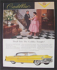 1955 Cadillac With A Great Picture Of Cadillac