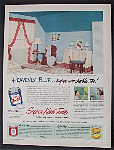 1951 Super Kem-Tone Paints with Room Painted (Image1)