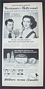 1951 Westmore Hollywood Cosmetics With Linda Darnell