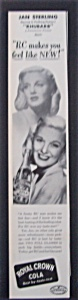1951 Royal Crown Cola With Jan Sterling