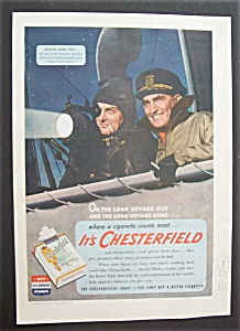 1943 Chesterfield Cigarettes