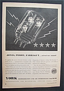 1943  York  Refrigeration & Air Conditioning  For  War (Image1)