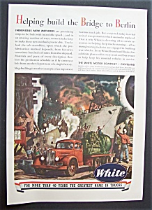Vintage Ad: 1943 White Motor Company