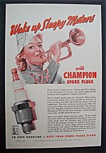 Vintage Ad: 1942 Champion Spark Plugs (Image1)