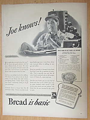 1943 Bread with Joe Knows Bread  (Image1)