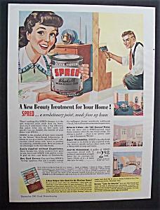 1943  Spred  Washable  Paint (Image1)