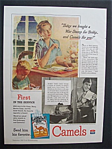 1943  Chesterfield  Cigarettes (Image1)