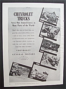 Vintage Ad: 1943  Chevrolet  Trucks (Image1)