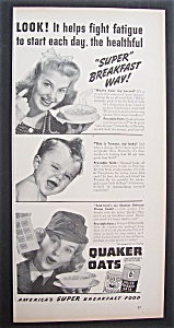 1942  Quaker  Oats  Cereal (Image1)