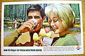 Vintage Ad: 1964 Pepsi Cola (Pepsi) (Image1)