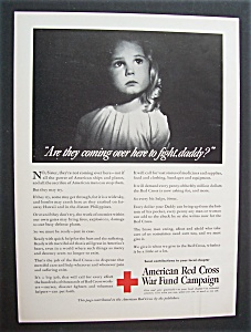 1942  American  Red  Cross  War  Fund  Campaign (Image1)