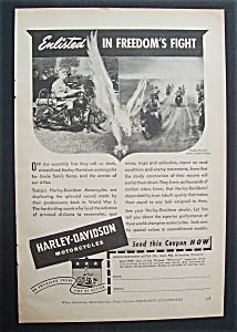 1942  Harley - Davidson  Motorcycles (Image1)