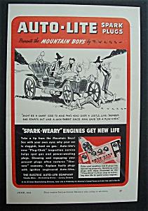 1942  Auto - Lite  Spark  Plugs (Image1)