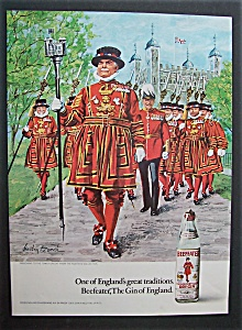 1972 Beefeater Dry Gin