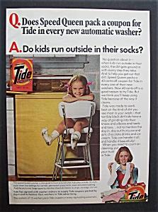 1978  Speed  Queen  Washer  &  Tide  Detergent (Image1)