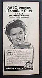 1943  Quaker  Oats  Cereal (Image1)
