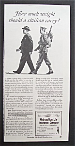 1943 Metropolitan Life Insurance Company with Soldier (Image1)