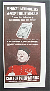 1943 Philip Morris Cigarettes W/bellboy (Philip Morris)