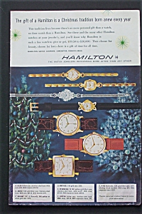 1956 Hamilton Watches With 7 Different Watches