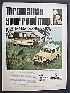 Vintage Ad: 1970 Jeep - The 2 - Car Car