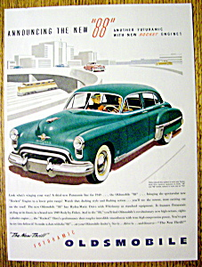 1949 Oldsmobile 88 With Oldsmobile 88