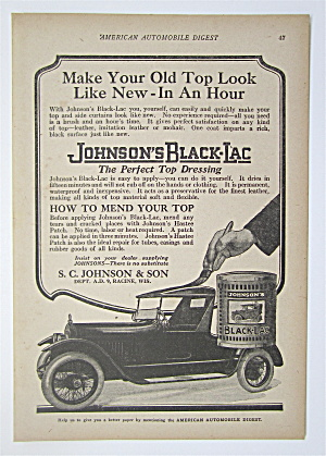 1923 Johnson's Black Lac with Car Being Painted (Image1)