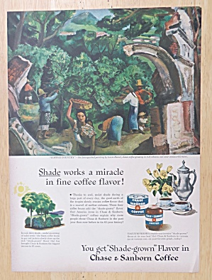 1947 Chase & Sanborn Coffee with Coffee Country (Image1)