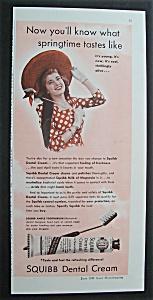 1940  Squibb  Dental  Cream (Image1)