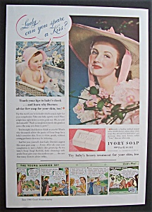 1940 Ivory Soap with a Baby Talking to a Woman (Image1)